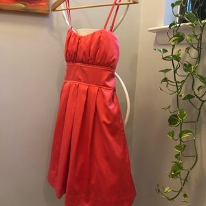 Lovely Coral Midi Dress by Snap!